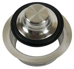 Garbage Disposal Flange Kit - With Stopper, Oil Rubbed Bronze