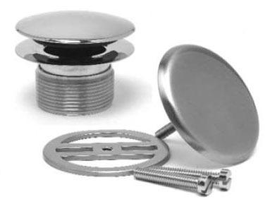 Drain Trim Kit, Brushed Nickel
