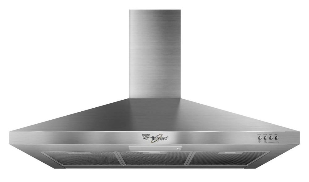 "36"" Wall Mount Ventilation Hood - Gold, Stainless Steel, 20 A, 300 CFM"
