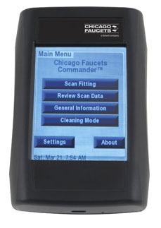 Handheld Electronic Faucet Programming Unit