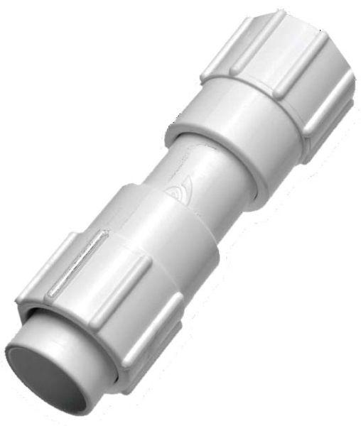 "1"" PVC Straight Coupling - KwikRepair, Socket Weld, 338 psi"