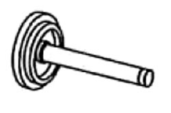 Urinal Valve Operating Stem
