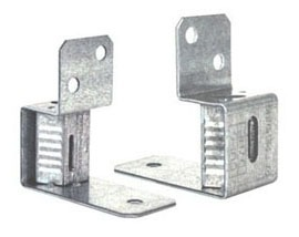 90D Duct Cable Lock Bracket Assembly, Sheet Metal