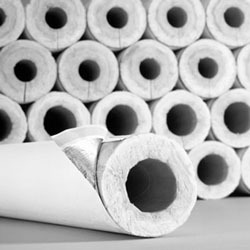 "Fiberglass Pipe Insulation - SSL II, 1-1/8"" Pipe"