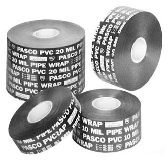 "1"" X 100' PVC Printed Pipe Wrap Tape"