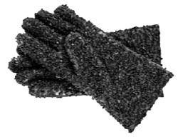Drain Snake Gloves - PVC / NBR Blend Coated