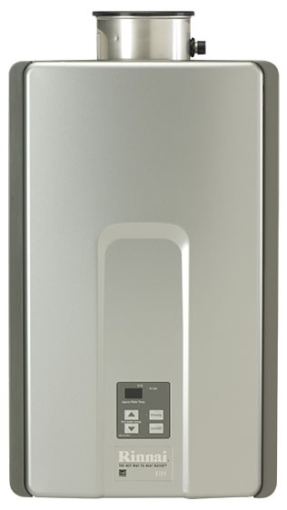 Tankless Water Heater, Tankless Liquid Propane Gas Water Heater - Luxury, Commercial, Residential, Indoor, 199000 BTU, 9.8 GPM Max Flow Rate