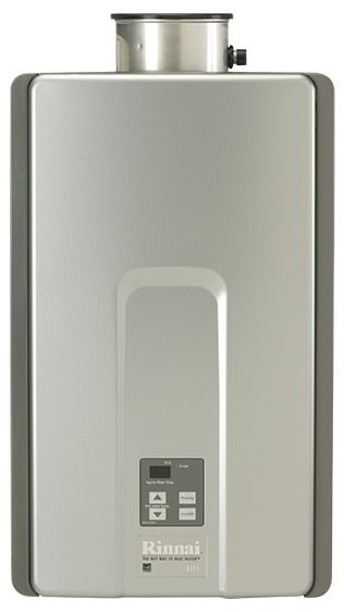 Tankless Water Heater, Natural Gas, RL94e, Luxury 9900 to 199000 BTU/HR