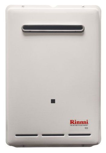 Tankless Water Heater, Tankless Natural Gas Water Heater - Residential, Outdoor, 120000 to 120200 BTU, 5.3 GPM Max Flow Rate