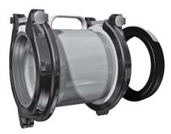 Ductile Iron Straight Bolted Pipe Repair Coupling