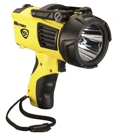 Pistol-Grip LED Spotlight - WayPoint, Polycarbonate