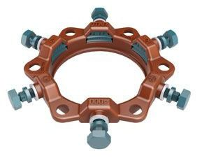 """10"""" Ductile Iron Pipe Restraint - Series 4000P Stargrip, Mechanical Joint, Import"""
