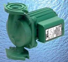 """1/8 HP Circulator Pump - 009-IFC, Cast Iron, 10 GPM, 115 V, 3/4"""" or 1"""" or 1-1/4"""" or 1-1/2"""" Flange"""