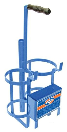 Welding Gas Cylinder Carrying Stand - Metal