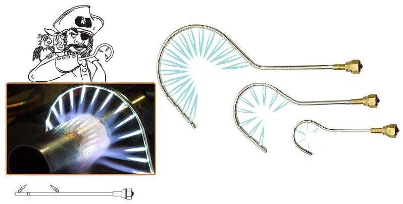 Acetylene / Oxygen Welding Torch Tip - Cap'n Hook