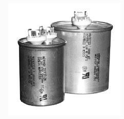 80/5 Microfarad 440 VAC Motor Run Capacitor - Round