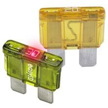 3 A 32 VDC Fast Acting Automotive Blade Fuse - Plastic
