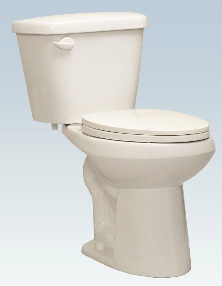 1.28 GPF Toilet Tank - Quick-Install, White