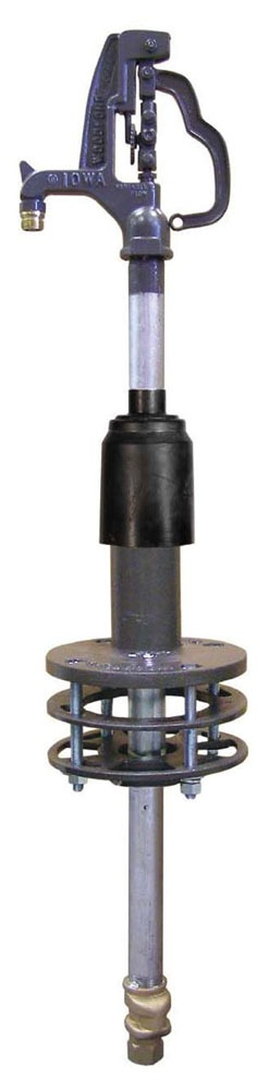 "1"" x 3/4"" Freezeless Roof Hydrant - FPT x MHT, 100 psi"