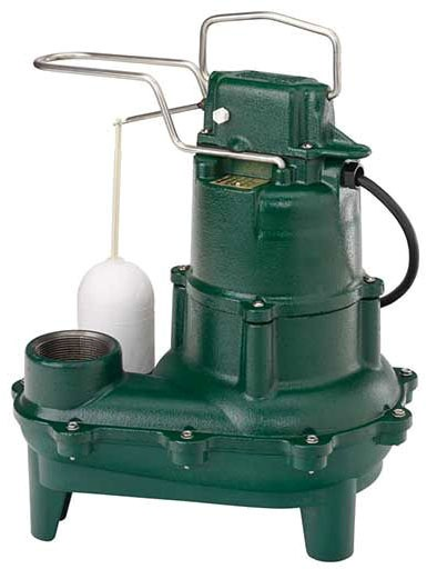 4/10 HP Submersible Effluent Pump - FLOW-MATE, Cast Iron, 90 GPM, 115/230 V