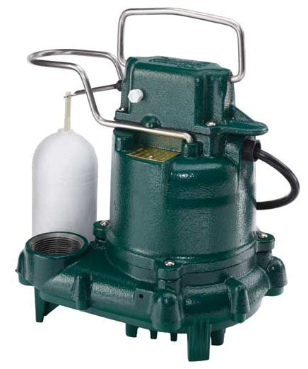 3/10 HP Submersible Effluent Pump - MIGHTY-MATE, Cast Iron, 43 GPM, 115/230 V