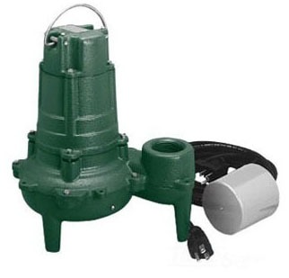 1/2 HP Automatic Submersible Sewage Pump - Series 267, Cast Iron, 128 GPM, 115/460 VAC