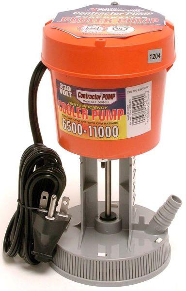 """5/8"""" and 3/4"""" Hose 1/40 HP Evaporative Cooler Concentric Pump - 8500 to 15000 CFM, 230 V, 0.8 A"""