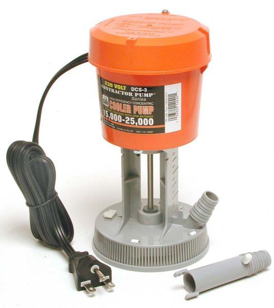 Evaporative Cooler Concentric Pump, Orange/Grey