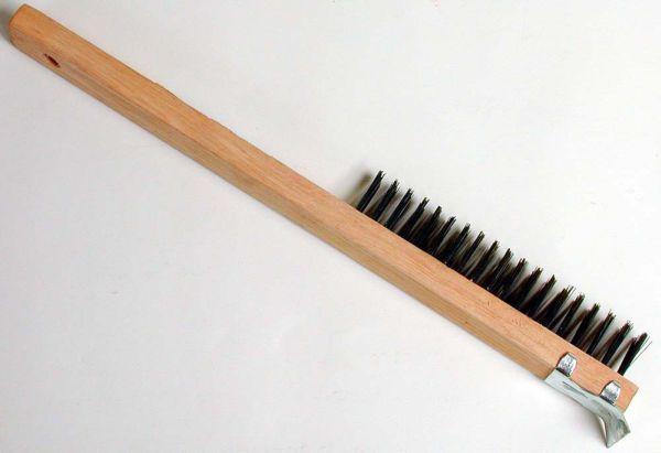 Evaporative Cooler Wire Brush and Scraper
