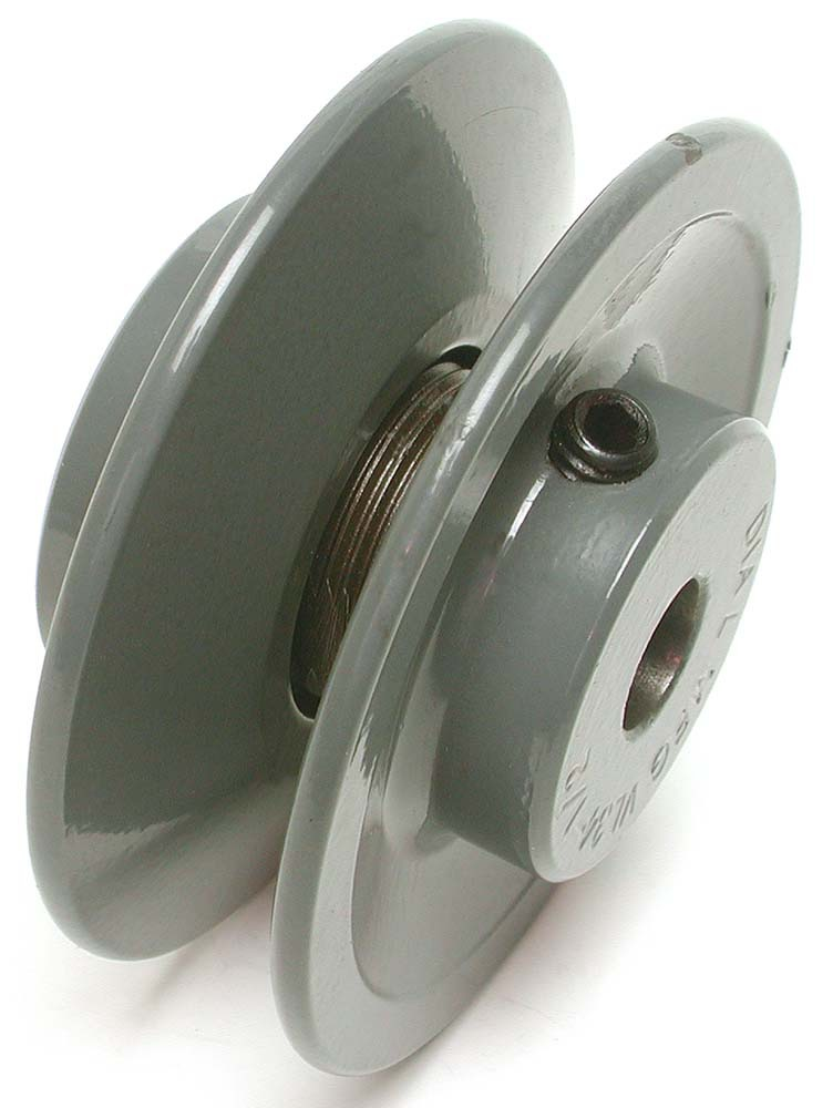 """3-3/4 X 1/2"""" Evaporative Cooler Variable Motor Pulley, Iron"""