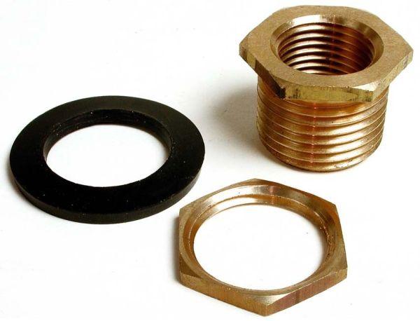 "3/4MHT X 1/2FIP"" Evaporative Cooler Drain, Brass"