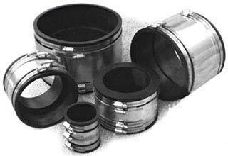 301 Stainless Steel DWV Pipe Repair Coupling