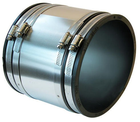 301 Stainless Steel DWV Pipe Repair Coupling