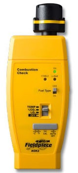Meter Oxygen and Carbon Dioxide Combustion Check Head