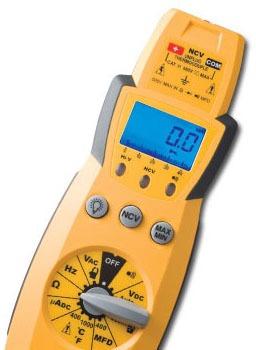600 VAC/VDC 400 A AC Manual Ranging Multimeter - Backlight LCD Display