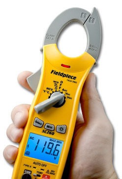 Compact Clamp Meter - LCD Backlight Display