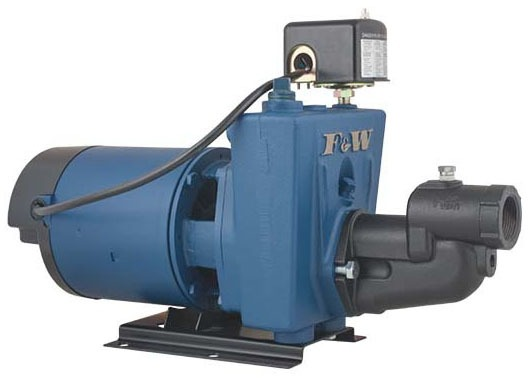 Convertible Shallow Well Jet Pump, Gray Iron