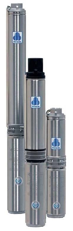 1/2 HP Six Stage Submersible Pump, Thermoplastic