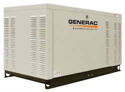 27 KW Natural Gas Single Phase Synchronous Standby Generator