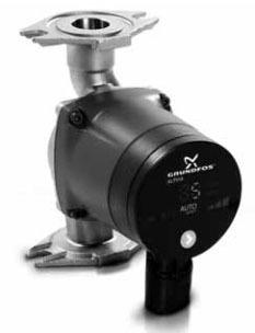 Wet Rotor Three Fixed Speed Circulator Pump, Cast Iron