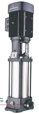 0.75 HP 4-Stage Centrifugal Pump - Cast Iron, 15.4 GPM, 230/460 V