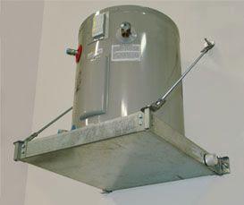 Wall Mount Pre-Assembled Watertight Water Heater Platform