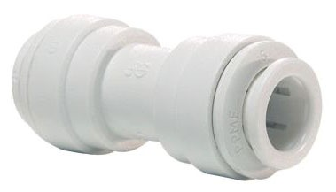 "1/2"" Polypropylene Straight Union Connector"