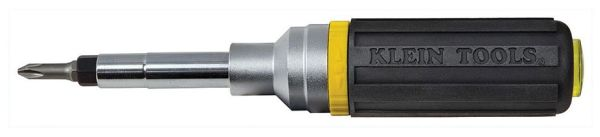 6-IN-1 RATCHETING SCREWDRIVER/NUT DRIVER