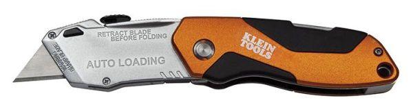 AUTO-LOADING FOLDING UTILITY KNIFE