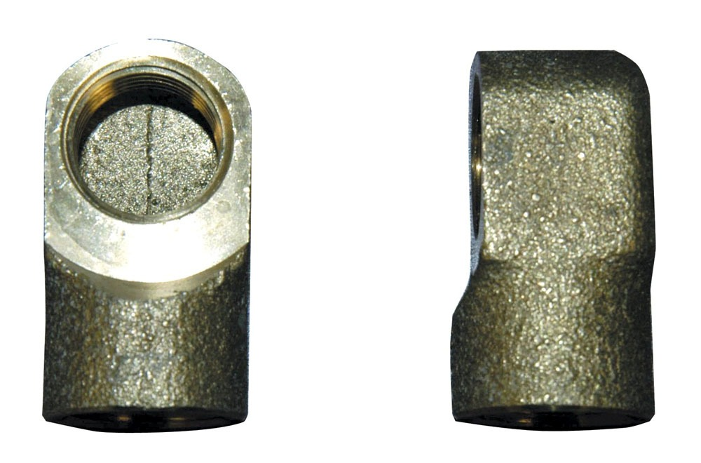 Faucet Space Saver Elbow, Solid Brass