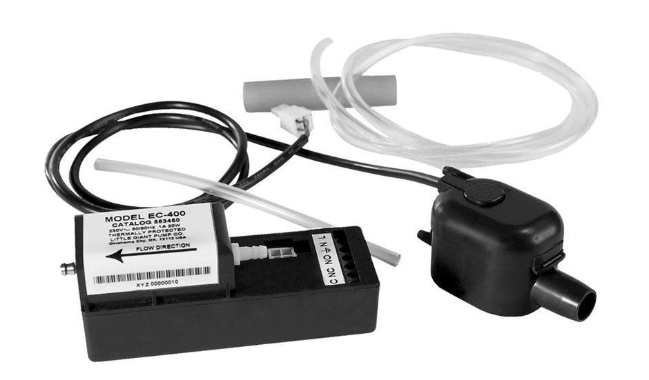 1' to 10' Condensate Pump - 2 GPH at 2', 115 V
