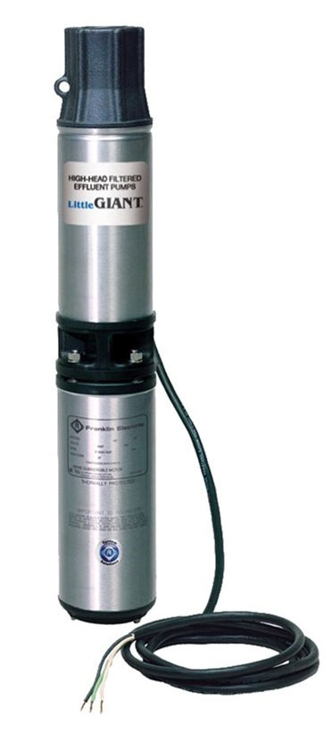 Effluent Pump, Stainless Steel