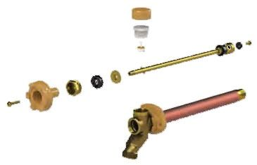 Wall Hydrant Handle Repair Kit - Metal