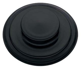 Air-Activated Sink Top Switch Pushbutton, Matte Black